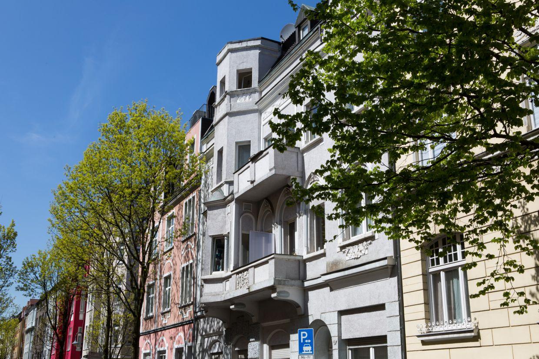 InnovationCity roll out-Quartier Herne-Mitte Altbauten