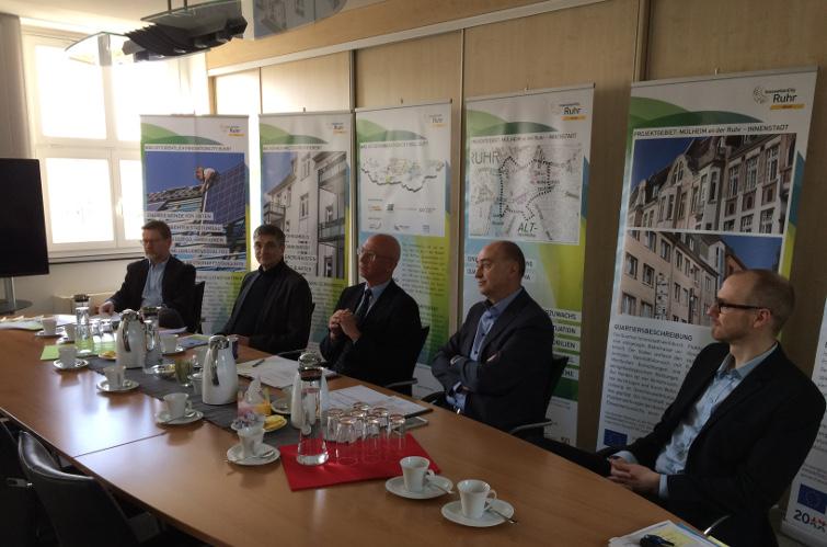 Presseauftakt für Mülheim an der Ruhr - InnovationCity roll out