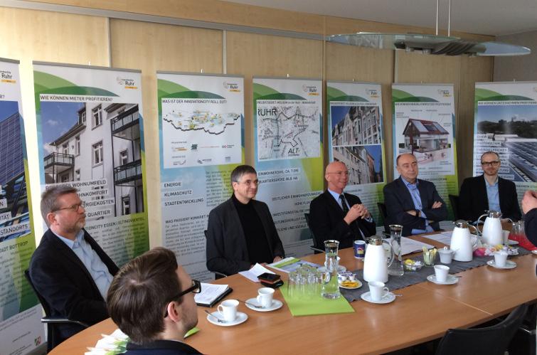 Mülheim an der Ruhr - InnovationCity roll out startet mit Pressekonferenz