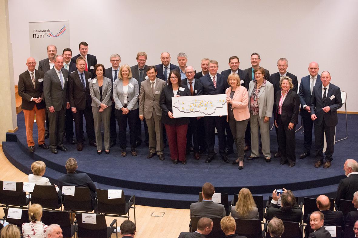 InnovationCity roll out - Bekanntgabe mit Ministerpräsidentin Hanelore Kraft
