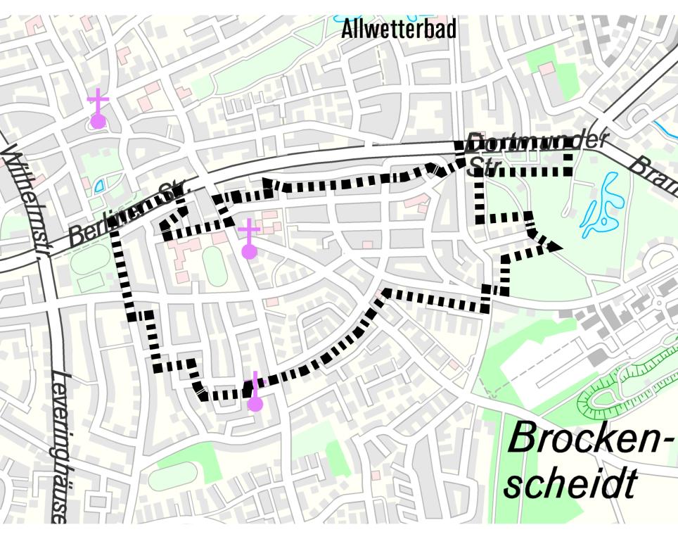 Projektgebiet Waltrop Hirschkamp / Alte Kolonie