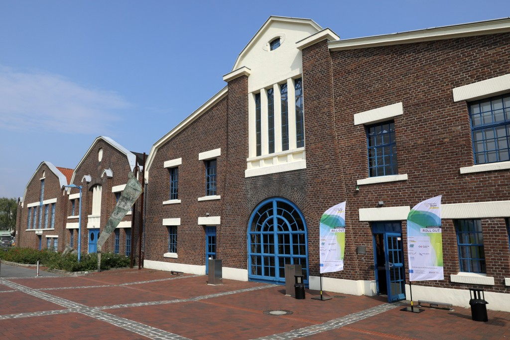 Gebäude der Flottmann-Hallen in Herne