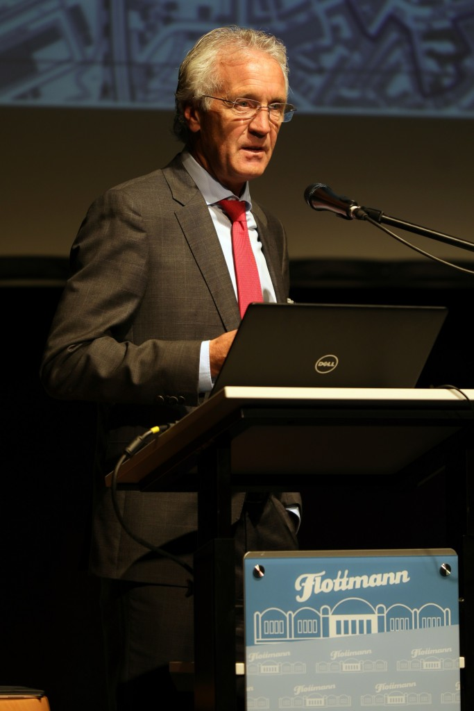 Dr. Jürgen Bock am Rednerpult