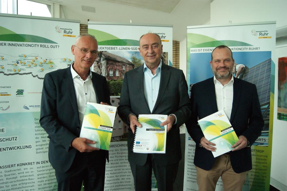 Integrierte Energetische Quartierskonzept für Lünen-Süd übergeben