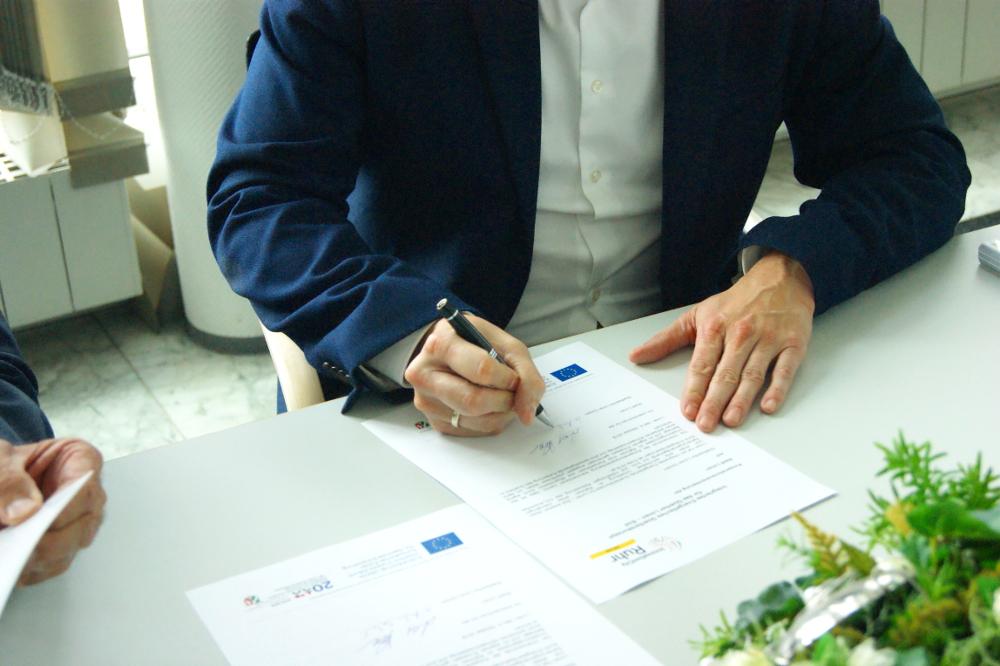 Unterzeichnung der Zielvereinbarung Lünen - Süd