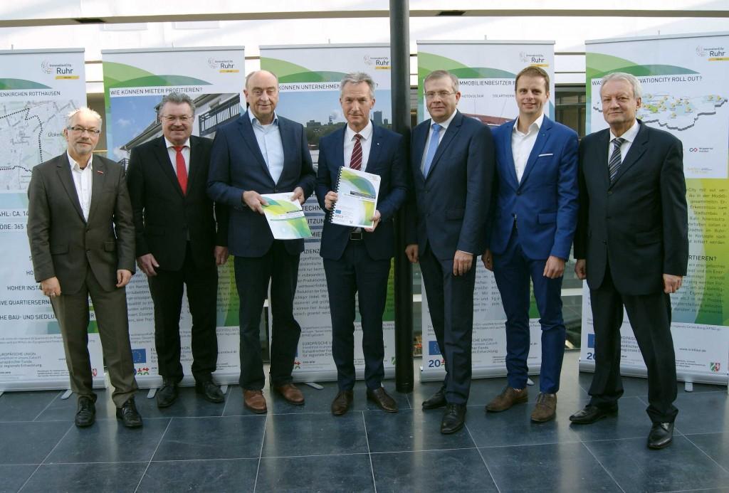 Integrierte Energetische Quartierskonzept für Gelsenkirchen - Rotthausen übergeben
