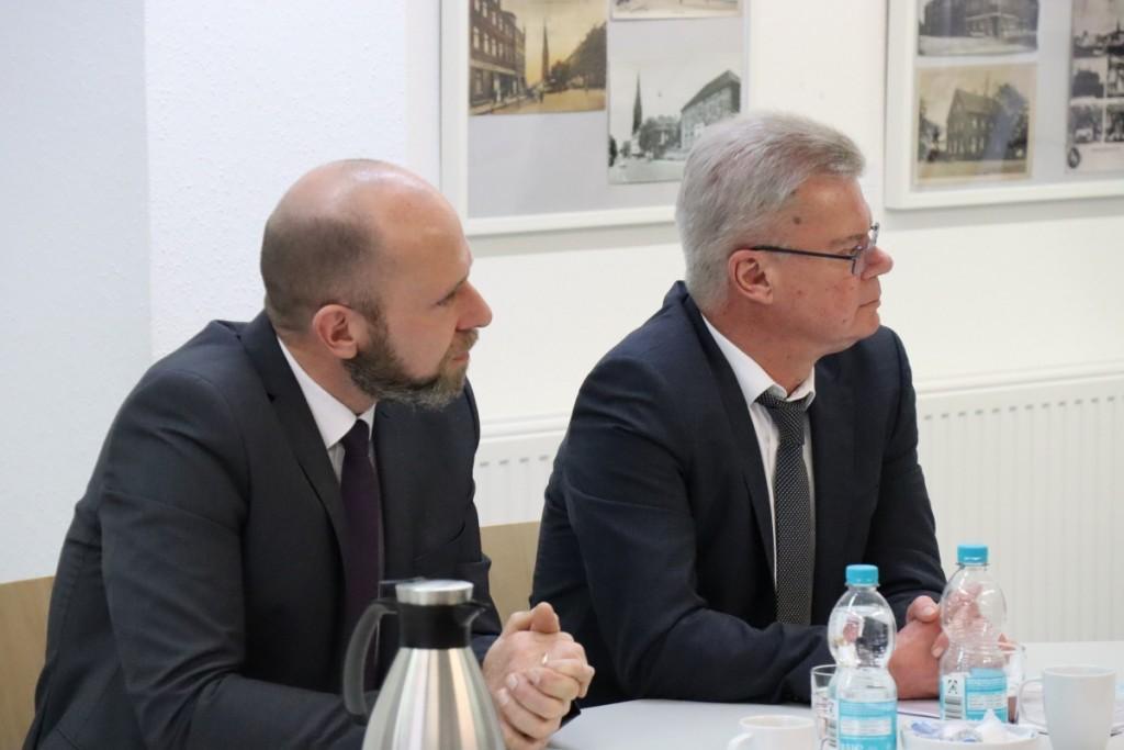 Pressegespräch zur Konzeptübergabe in Oberhausen